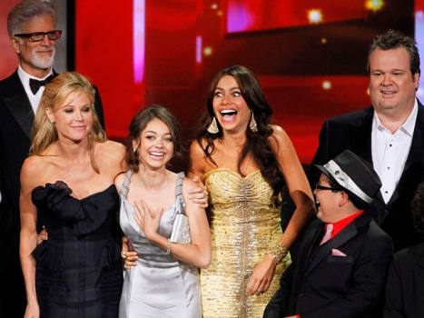 """Modern Family,"" ""Mad Men"" and HBO Win Big at Emmys"