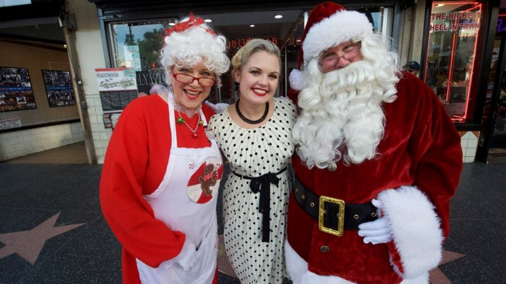 Santa and Mrs. Claus will call upon the Dec. 8 party in an LAFD firetruck.