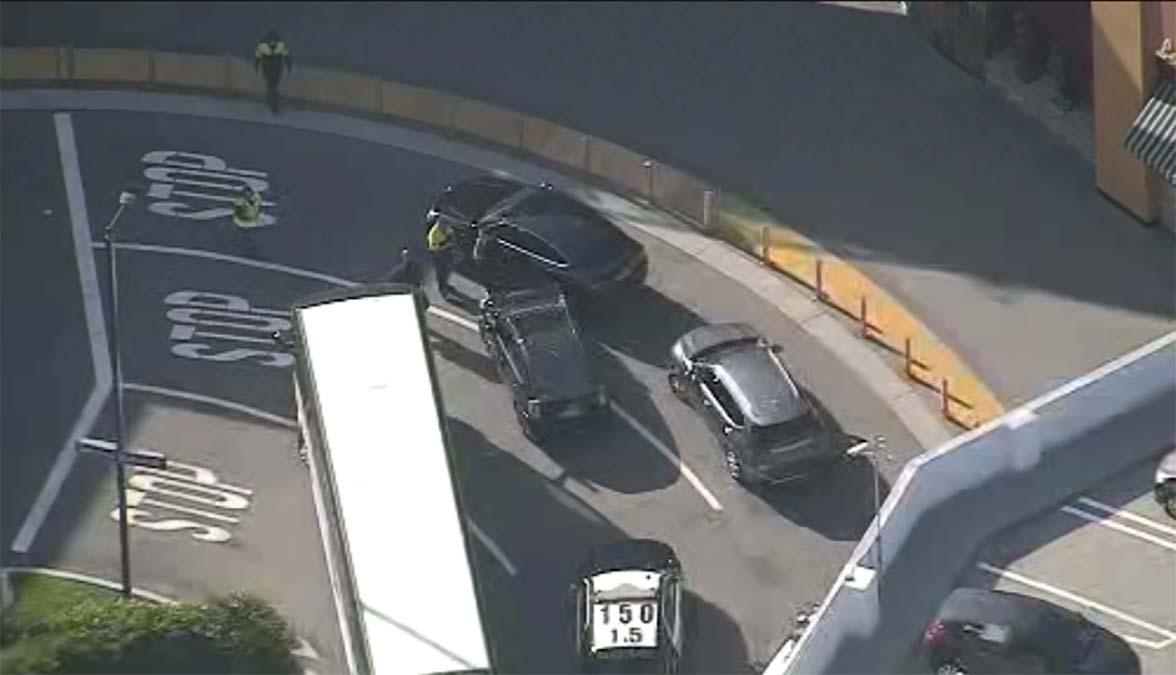 Chase Driver Found Hiding in Universal CityWalk Parking Garage