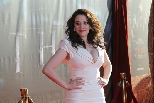 """Two Broke Girls"" Star Kat Dennings Breaks the Mold"