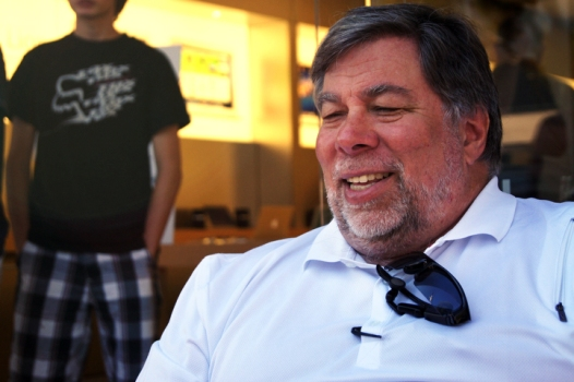 Woz Really Likes Android
