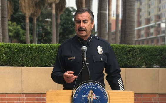 LAPD Chief Beck Addresses Graduating Cadets Amid Scandal