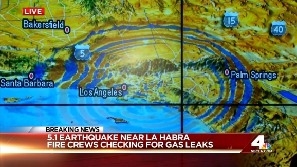 Caltech Analyzes Data From La Habra 5 1 Quake Nbc Southern California