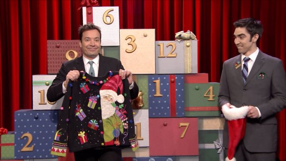 12 Days Of Christmas Sweaters On The Tonight Show Nbc Southern