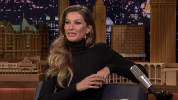 98b6e5782dd Tonight': Gisele Bündchen Talks First Date With Tom Brady - NBC ...