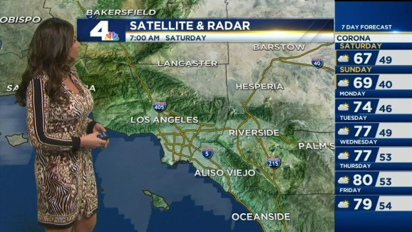 AM Forecast: Cloudy Skies, Cool Temps