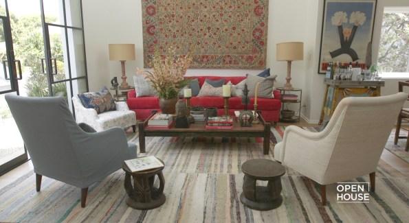 designer tour inside kathryn ireland s home with elle decor nbc