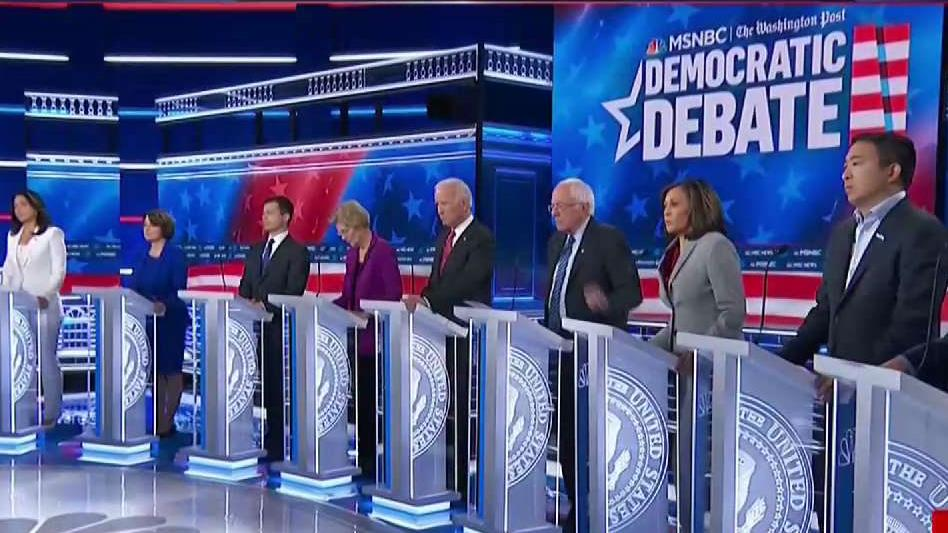 5th Democratic Debate: Top 10 Candidates