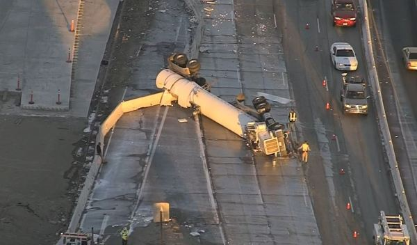 Drivers Crying Over Thousands of Gallons of Spilled Milk