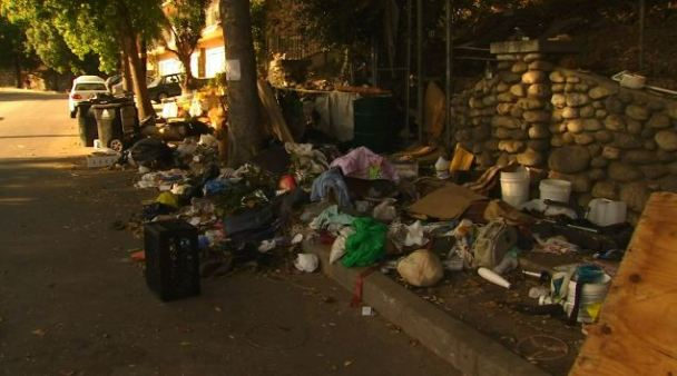 Homeless Camp Eyesore Sparks Neighborhood Ire