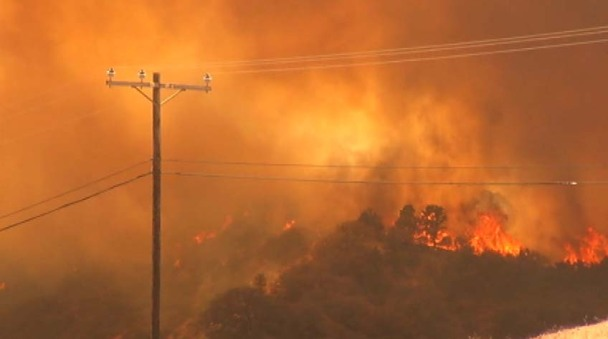 """Grand Fire"" Scorches Thousands of Acres Near Frazier Park"