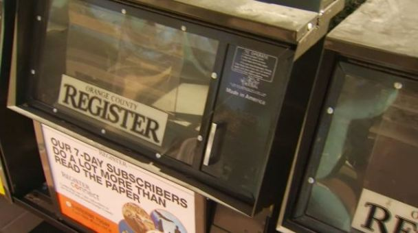 No Newspapers in OC Register Delivery Spat