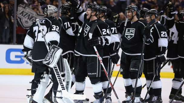 Kings Beat Blues 2-1, Advance to Second Round
