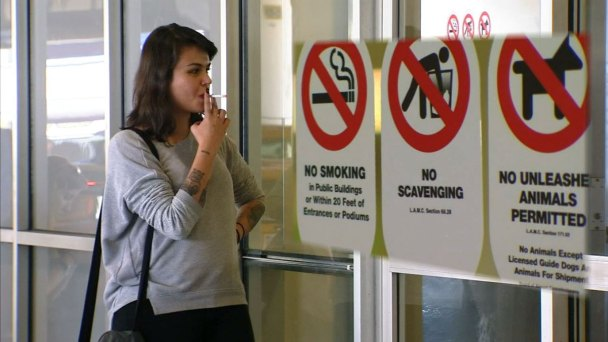 Airport Police Promise Secondhand Smoke Crackdown