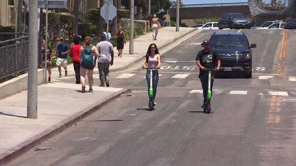California Grapples With Scooter Mania