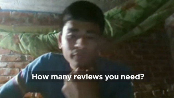 Who's Behind Fake Online Reviews?