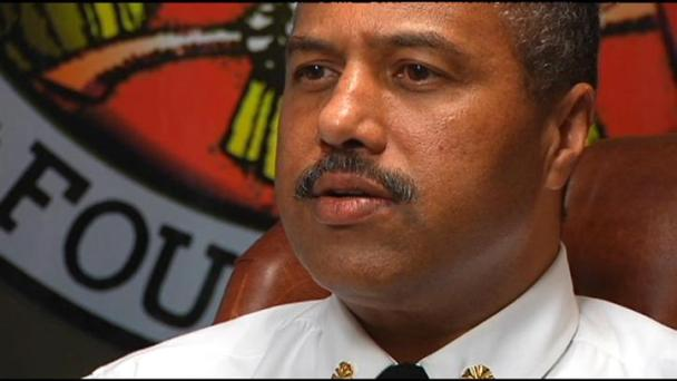 Fire Chief Starts Self-Imposed Punishment
