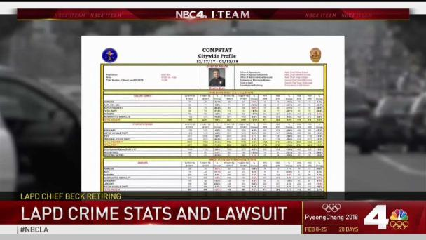 LAPD Announces 2017 Crime Statistics