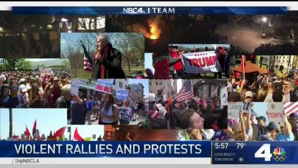 Confrontations at Rallies Spike
