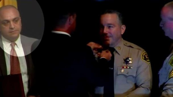 Fired Deputy Who Was Rehired by Sheriff Villanueva is Ordered to Give Up His Badge and Gun