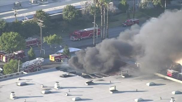 Explosive Fire in Santa Fe Springs Recalls 'Mess in Maywood'