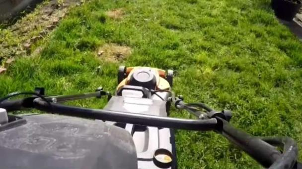 Grass Isn't Greener After Man Gets New Lawnmower