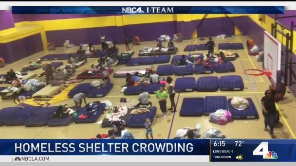 Homeless Shelter Overcrowding Raises Concerns