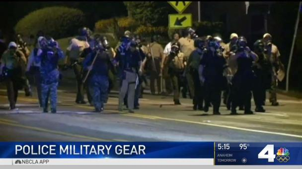 How Local Police Forces Use Surplus Military Gear