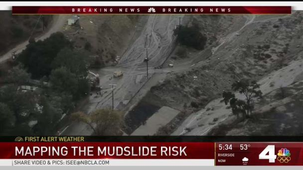 Mapping the Mudslide Risk: How to View Your Area