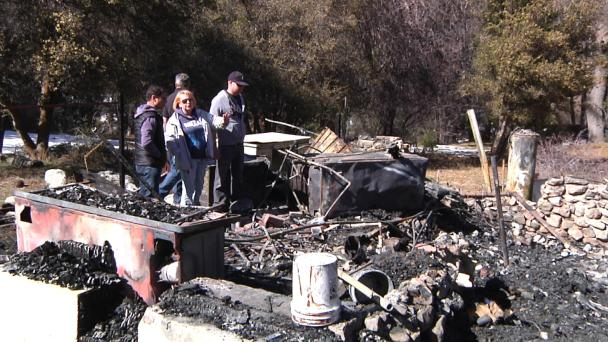 Exclusive Tour of Burned Down Cabin in Dorner Standoff