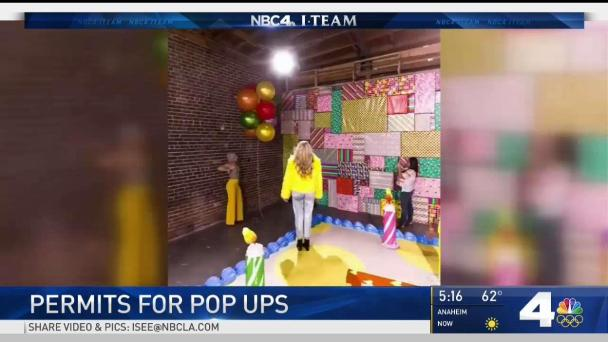 Pop-Up Experiences in LA Need Safety Permits