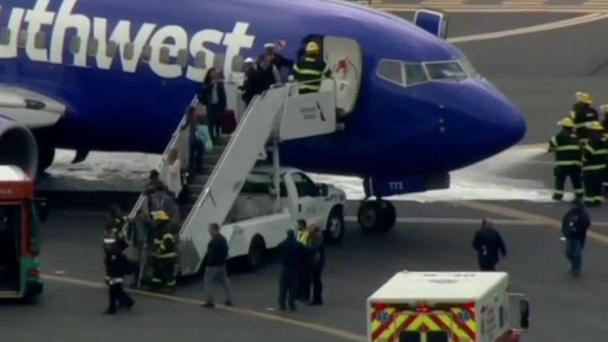 Woman Killed As Southwest Jet Makes Emergency Landing
