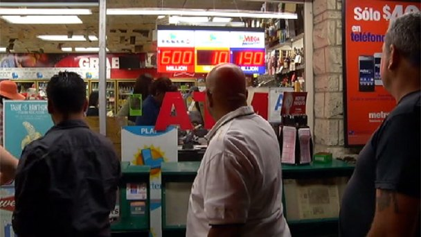 Locals Line Up at Lucky Lottery Stores