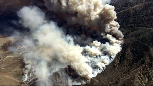 Wildfire Near Lebec Grows Into Three Counties