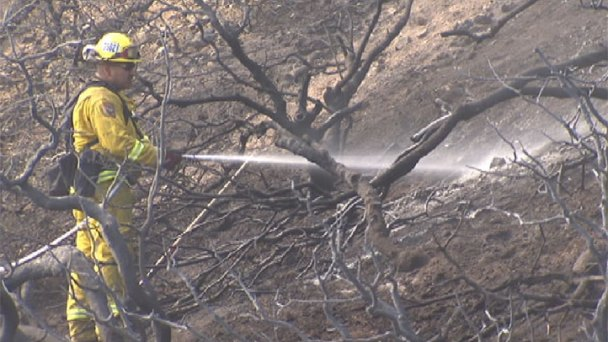 Crews Continue Battling Grand, Lake Fires