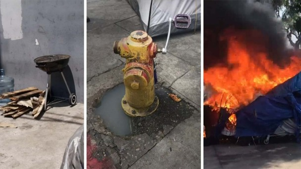 Firefighters Lose Critical Tool to Battle Homeless Fires