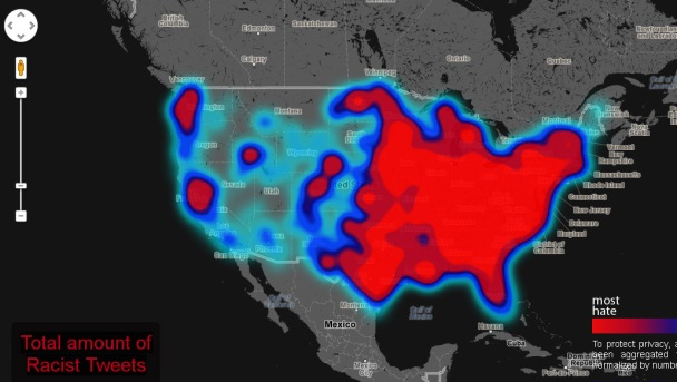"NorCal Students Map ""Geography of Hate"" Using Tweets"
