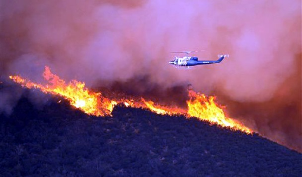Record Heat Prompts Brush Fire Fears