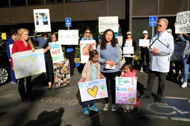 Families Demand Full Clean Up Nuclear Test Lab