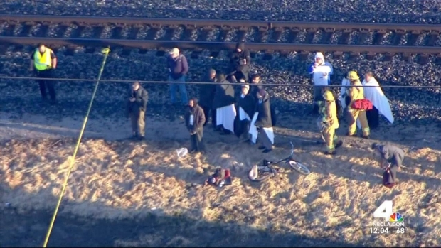Three In Critical Condition After Oxnard Train Derailment