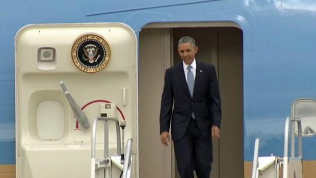 [BAY] President Obama Back in Bay Area