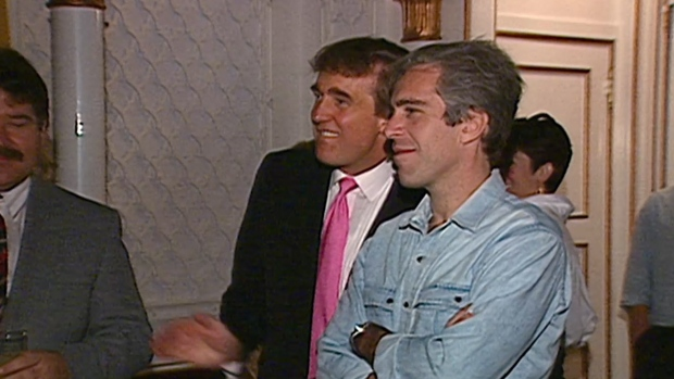 [NATL] Footage From 1992 Shows Trump, Epstein at Party