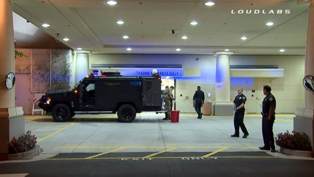[LA] Pomona Officer Hospitalized in Shooting