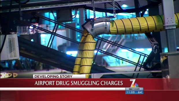 [DGO]6 Charged in Airport Drug Smuggling Operation