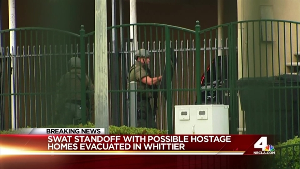 [LA] Whittier Standoff Forces Evacuations