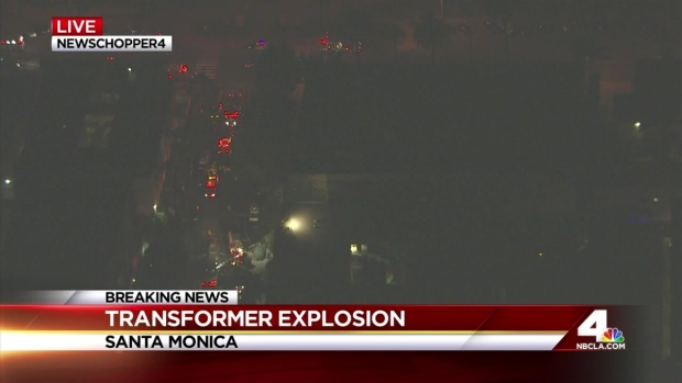 [LA] Transformer Explodes at Santa Monica Apartment Building