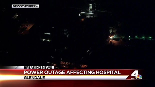 [LA] Thousands Left Without Power in Glendale