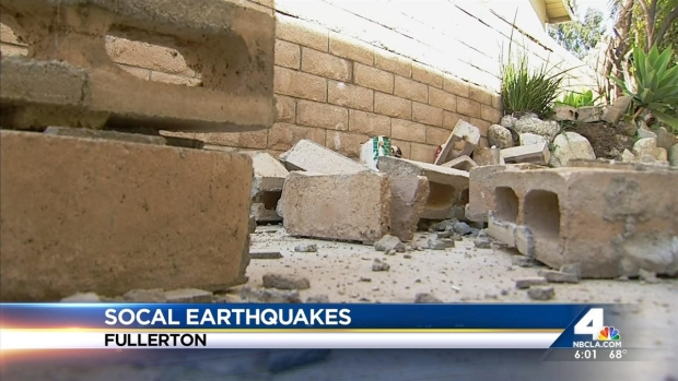 [LA] Hundreds of Coyote Hills Homes Damaged by Quake
