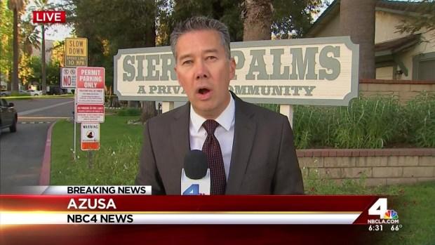 [LA] Evacuations During SWAT Standoff in Azusa