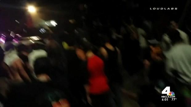 [LA] Dozens Hospitalized After Spring Break Party Turns Violent